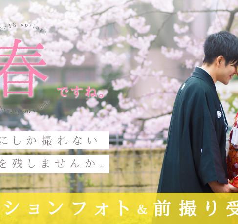 【春おすすめ*桜前撮り*ご予約開始】結婚式写真撮影