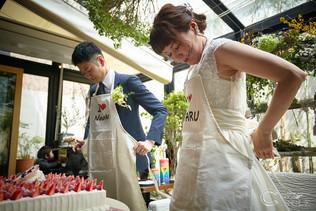 【ファーストバイトも可愛く❤*mothers】結婚式写真撮影/結婚式場