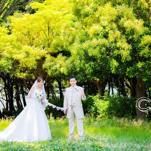 【おすすめ前撮り*新緑の季節】結婚式情報/結婚式写真撮影