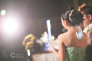 【感謝の気持ちを】結婚式写真撮影