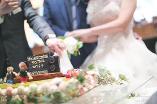 【世界にたったひとつのウェディングケーキ❤】結婚式写真撮影/結婚式場