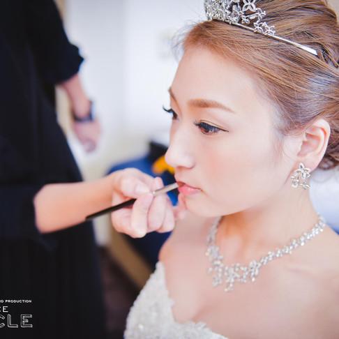 【おすすめ*お支度ショット】結婚式写真撮影/結婚式情報