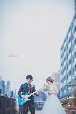 【大阪おすすめテラス挙式*8G Horie RiverTerrace】結婚式写真撮影/結婚式場