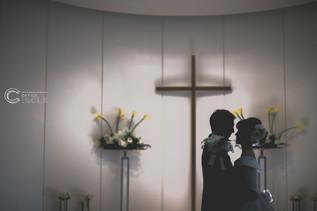 【特別な空間で】結婚式写真撮影
