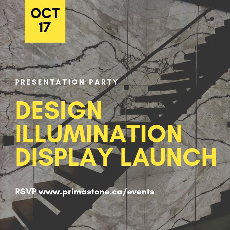 Prima Stone + Design Illumination Display Launch
