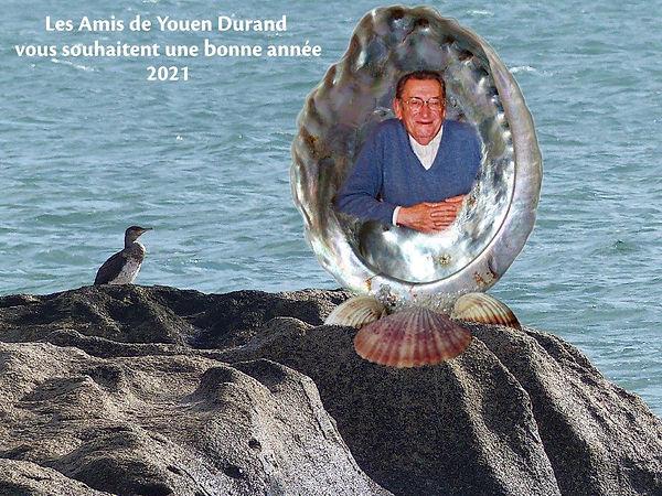 Carte de voeux Les Amis de Youen Durand