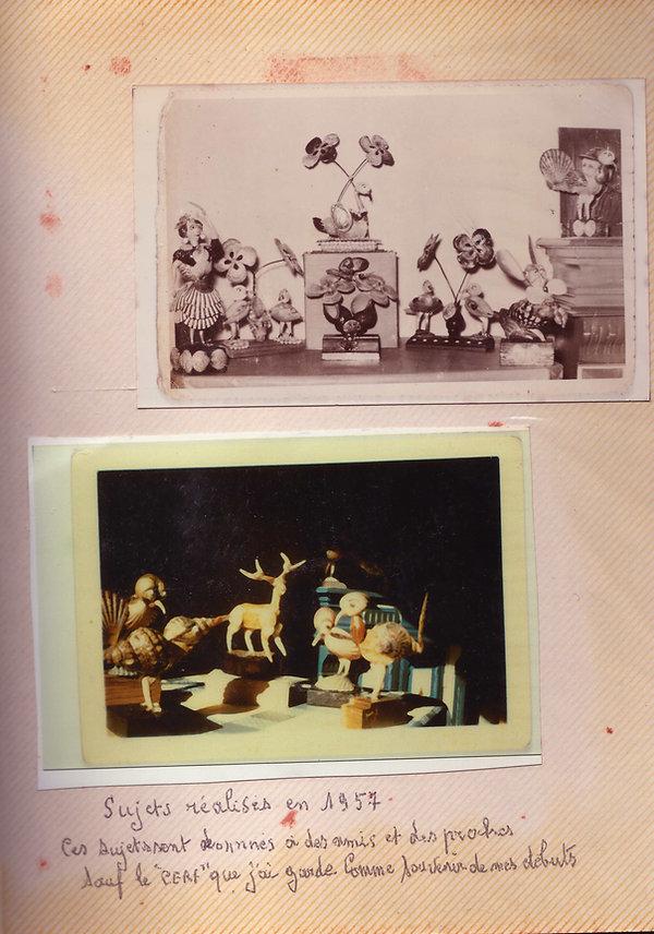 photos anciennes des premières réalisati