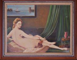 youen durand - copie de l'Odalisque