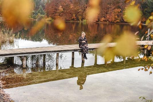 Babybauchfotos Griessee Herbst