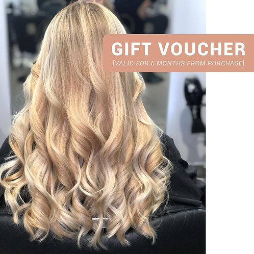 [Gift Voucher] Full Head Highlights or Balayage + Toner + Haircut + Blow-Dry