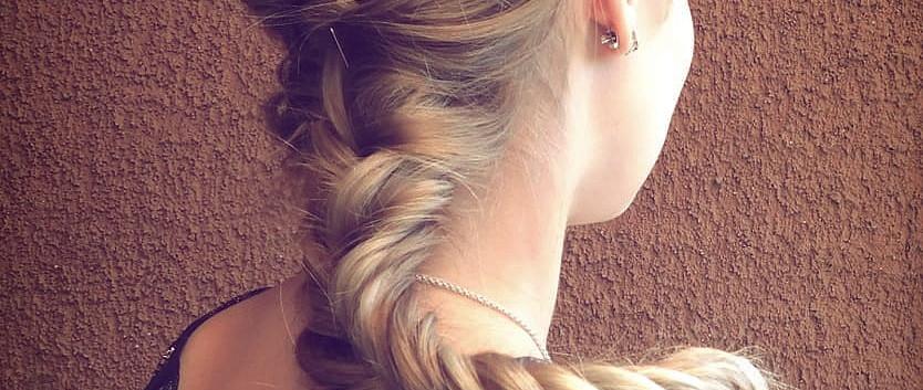 Haarreif mit Perlen