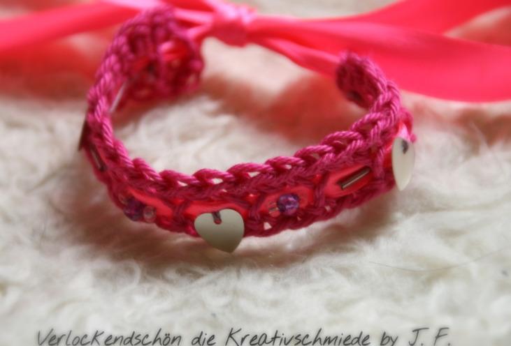 Pink Schleife JGA-ACCESSOIRE