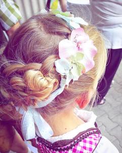 Kinder Trachten-Accessoire & Hairstyling