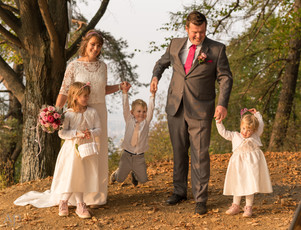Familien Hochzeitsfotoshooting