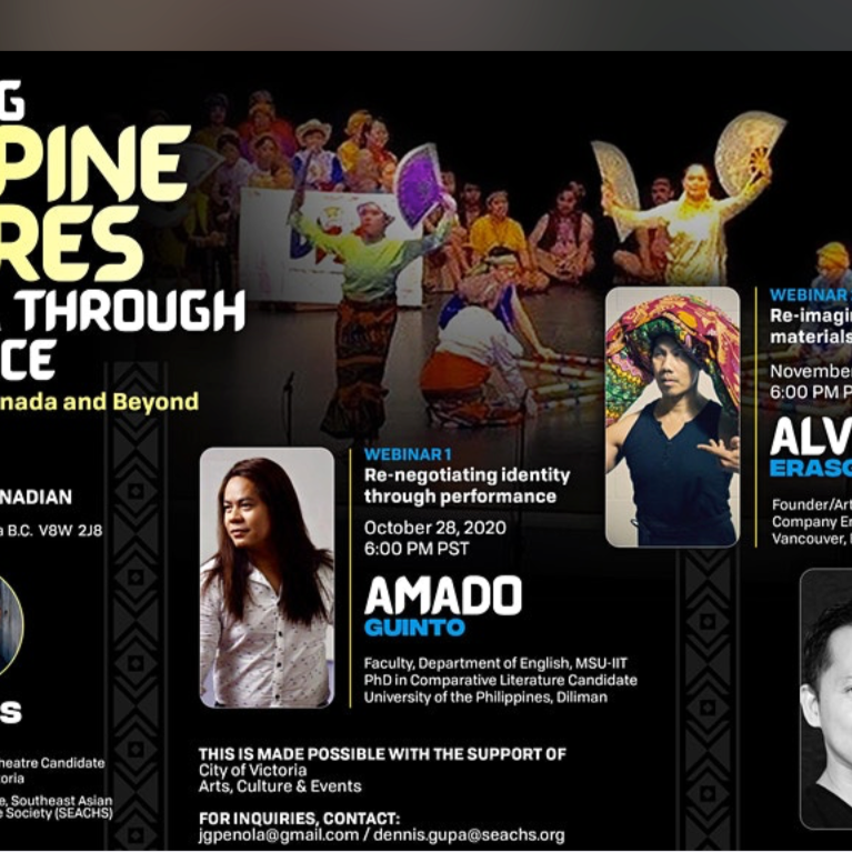 Free Webinar Series: Revitilizing Philippine Cultures in Diaspora through Performance
