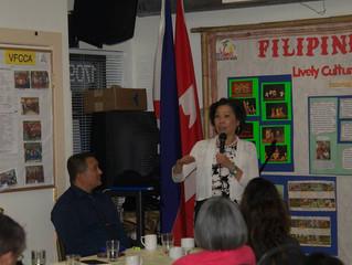 PHILIPPINE AMBASSADOR TO CANADA VISITS VICTORIA