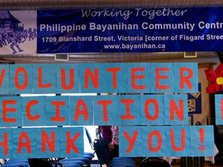 THANK YOU VOLUNTEERS!!!