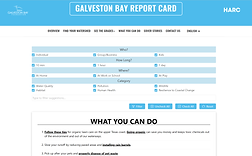 Galveston Bay Report Card and Action Network
