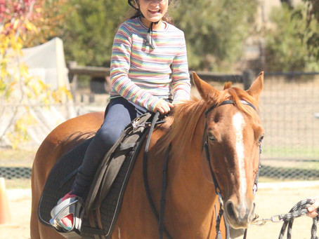 The Benefits of Horse-riding for Children