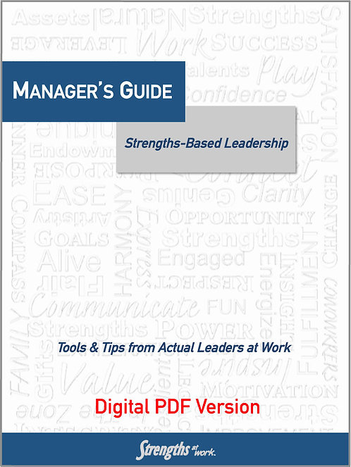 Manager's Guide to Strengths-Based Leadership - PDF