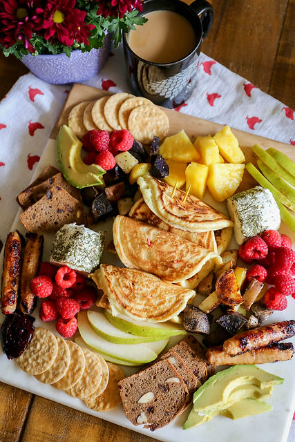 brunch platter