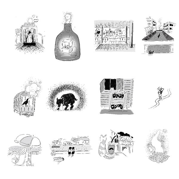 進士遙 Haruka Shinji イラスト illustration 演劇クエスト engeki quest EQ まちあるき 本 book バンコク Bangkok