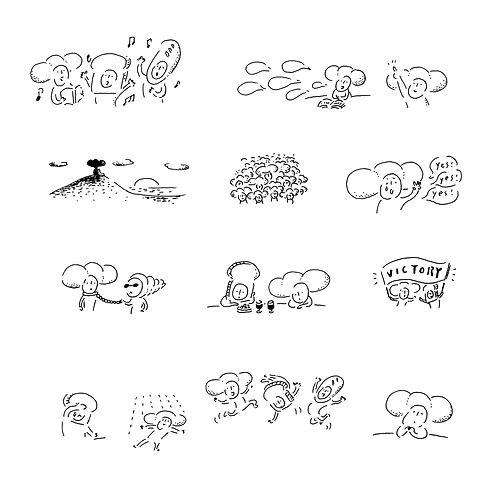 進士遙 Haruka Shinji イラスト illustration いのちのぱん いのぱん 聖書 Bible ディボーション devotions