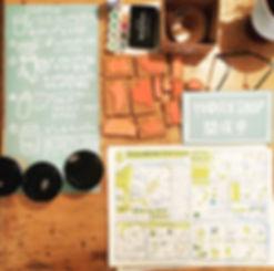 進士遙 Haruka Shinji イラスト illustration t装飾 台東ファッションザッカマルシェ 浅草 ライヲンビル lion building チラシ leaflet