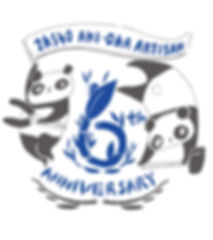 進士遙 Haruka Shinji イラスト illustration デザイン design パンダ panda 顔出し看板 顔ハメ看板 顔出しパネル 2K540 秋葉原 御徒町