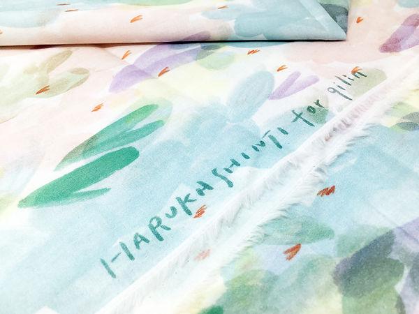 進士遙 Haruka Shinji イラスト illustration デザイン design テキスタイル textile 下着 underwear チーリン qilin ボタニカル