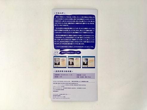 進士遙 Haruka Shinji イラスト illustration デザイン design パンフレット leaflet 東京都現代美術館