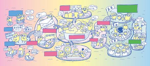 東京藝術大学 アトリエ・ムジタンツ2020 イラスト