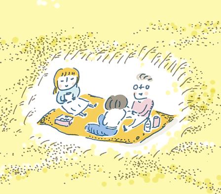 進士遙 Haruka Shinji イラスト illustration 地域振興 regional development 温故知新博覧会 富士山 Fuji