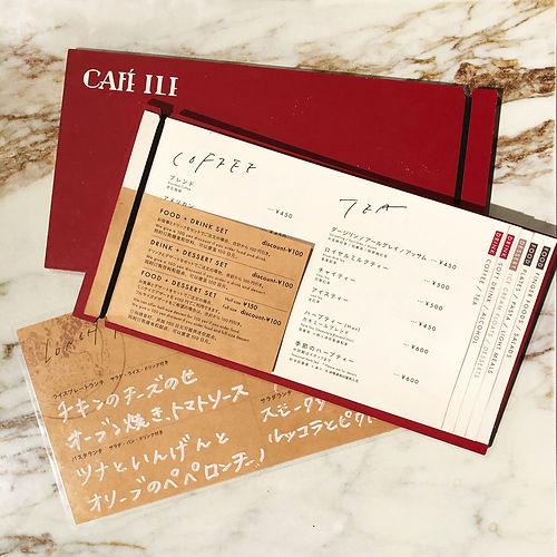 進士遙 Haruka Shinji イラスト illustration カフェ メニュー cafe menu