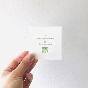 進士遙 Haruka Shinji イラスト illustration デザイン design パンフレット leaflet 菠蘿蜜相機店 ボロミーズカメラ Boromeezcamera