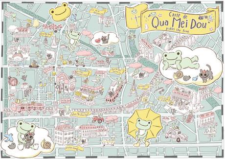 かえるのピクルス 'qua mei dou'の地図