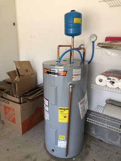 50gal Electric with Thermal Expansion Tank