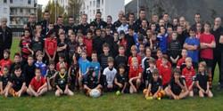Jeunes rugbymen