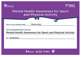 Mental Health Awareness for Sport And Ph