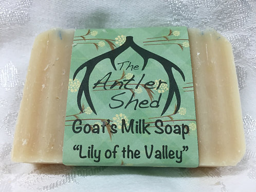 Lily of the Valley Goats Milk Soap