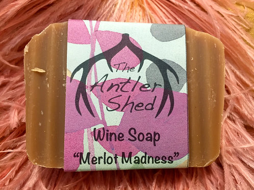 Merlot Madness Wine Soap