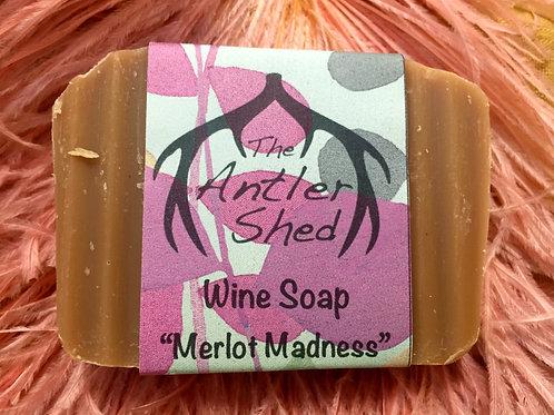 Merlot Madness Wine Soap