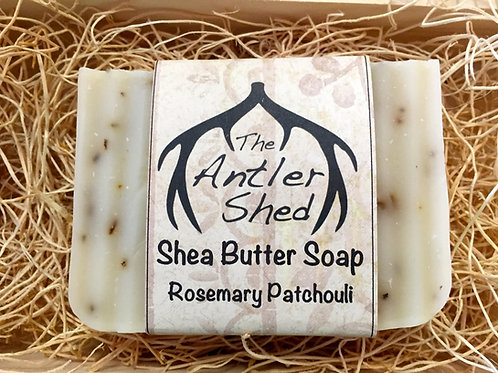 Rosemary Patchouli Shea Butter Soap