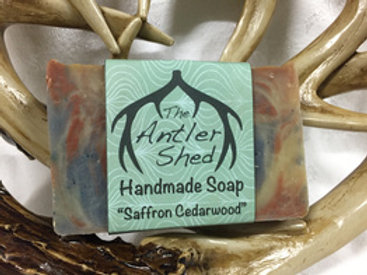 Saffron Cedar Handmade Soap