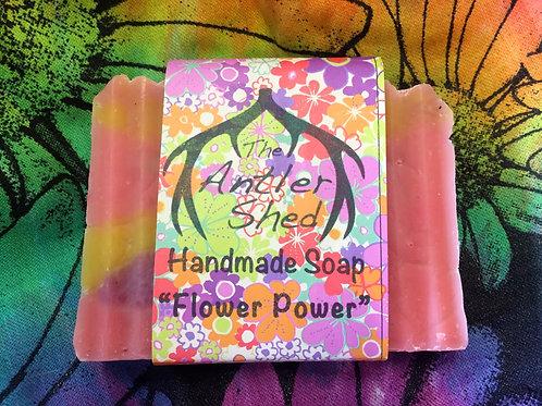 Flower Power Handmade Soap