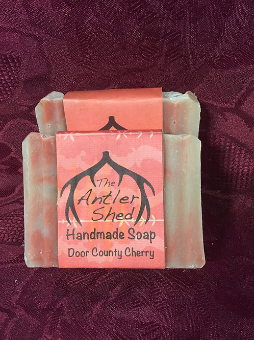 Wisconsin Door County Cherry Handmade Soap