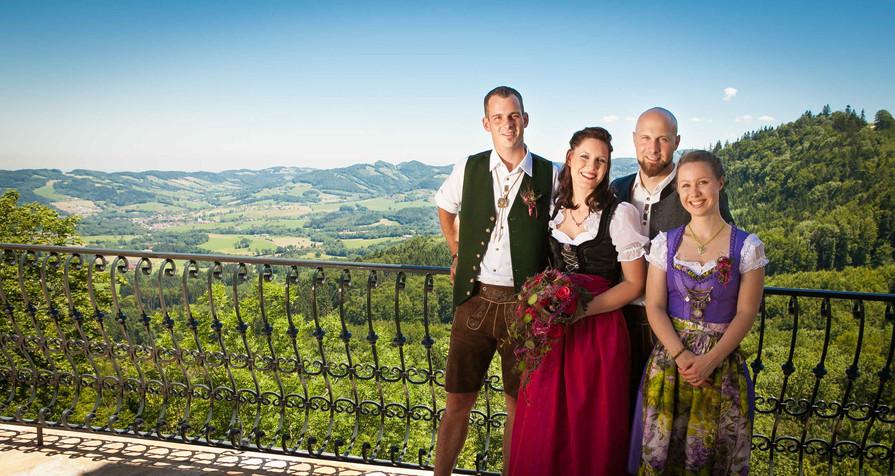 HOCHZEIT Bettina&Josef Trauzeugen