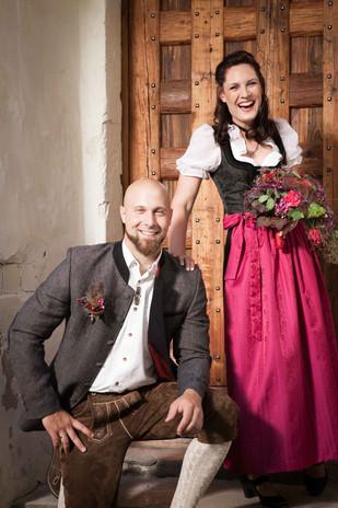HOCHZEIT Bettina&Josef Brautpaar