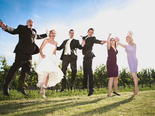 Perfekt gestellte Hochzeitsvideos...