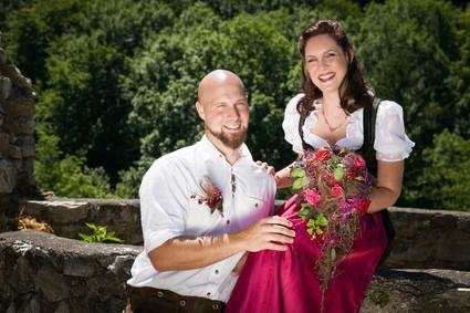 HOCHZEIT Bettina&Josef Lächeln